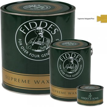 Fiddes Supreme Stripped Pine Wood Wax Polish/Restorer