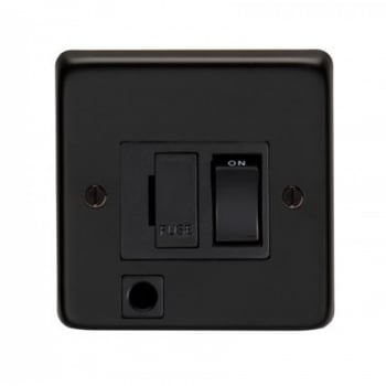 From the Anvil 13amp Switched Fuse With Flex Outlet - Matt Black