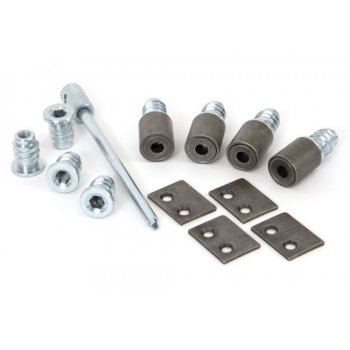 From the Anvil Antique Pewter Secure Stops (Pack of 4)