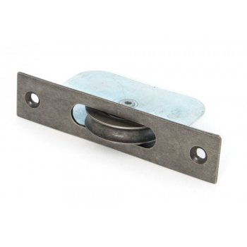 From the Anvil Antique Pewter Square Ended Sash Pulley 75kg