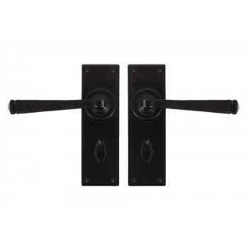 From the Anvil Avon Lever Lock and Latch Handle Sets - Black