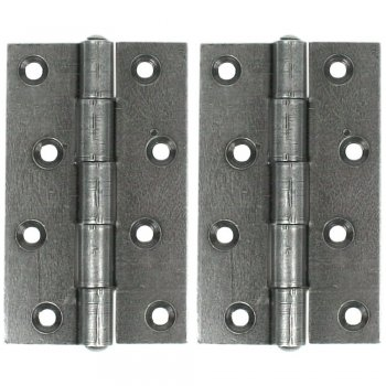 From the Anvil Butt Hinge (pair) - Pewter Patina