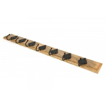 From the Anvil Cottage Coat Rack - Beeswax & Timber