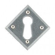 Diamond Escutcheon - Pewter Patina