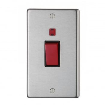 From the Anvil Double Plate Cooker Switch - Satin Stainless Steel
