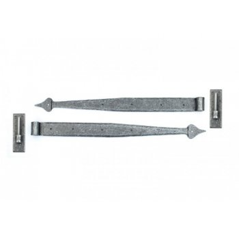 From the Anvil Handmade Pewter 24'' Hook & Band Hinge (pair)