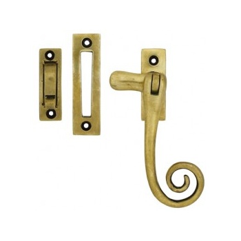 From the Anvil Monkeytail Fastener - Antique Brass