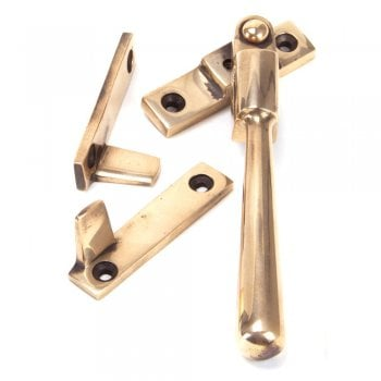 From the Anvil Polished Bronze Night Vent Newbury Fastener - Locking