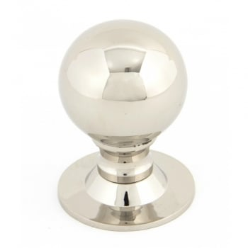 From the Anvil Polished Nickel Ball Cabinet Knob