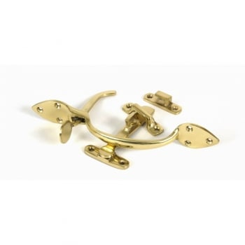 From the Anvil Sufolk Latch Set - Polished Brass