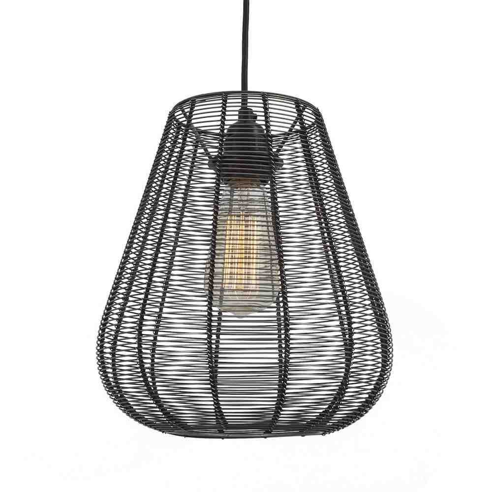 Vintage Industrial Cage Wire Metal Pendant Light Drop