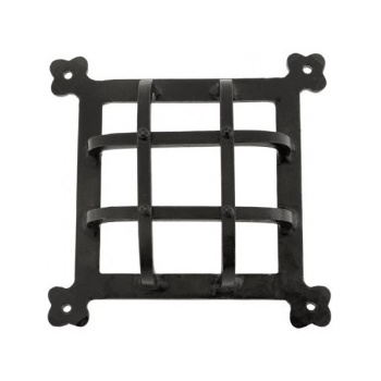 From the Anvil Handmade Raised Door Grill - Black