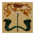 Handpainted Tube Lined Fireplace Tile Set (10) - LGC084