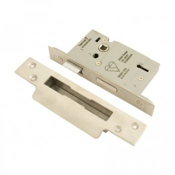 From the Anvil Heavy Duty Sashlock 64mm Satin Stainless Steel