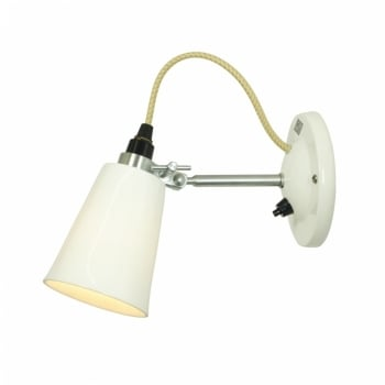 Original BTC Hector Small Flowerpot Switched Wall Light