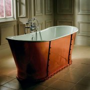 Baglioni Cobra Luxury Copper Skirted Cast Iron Bath