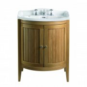 Linea Oxford Vanity Unit with 2 Solid Wood Doors