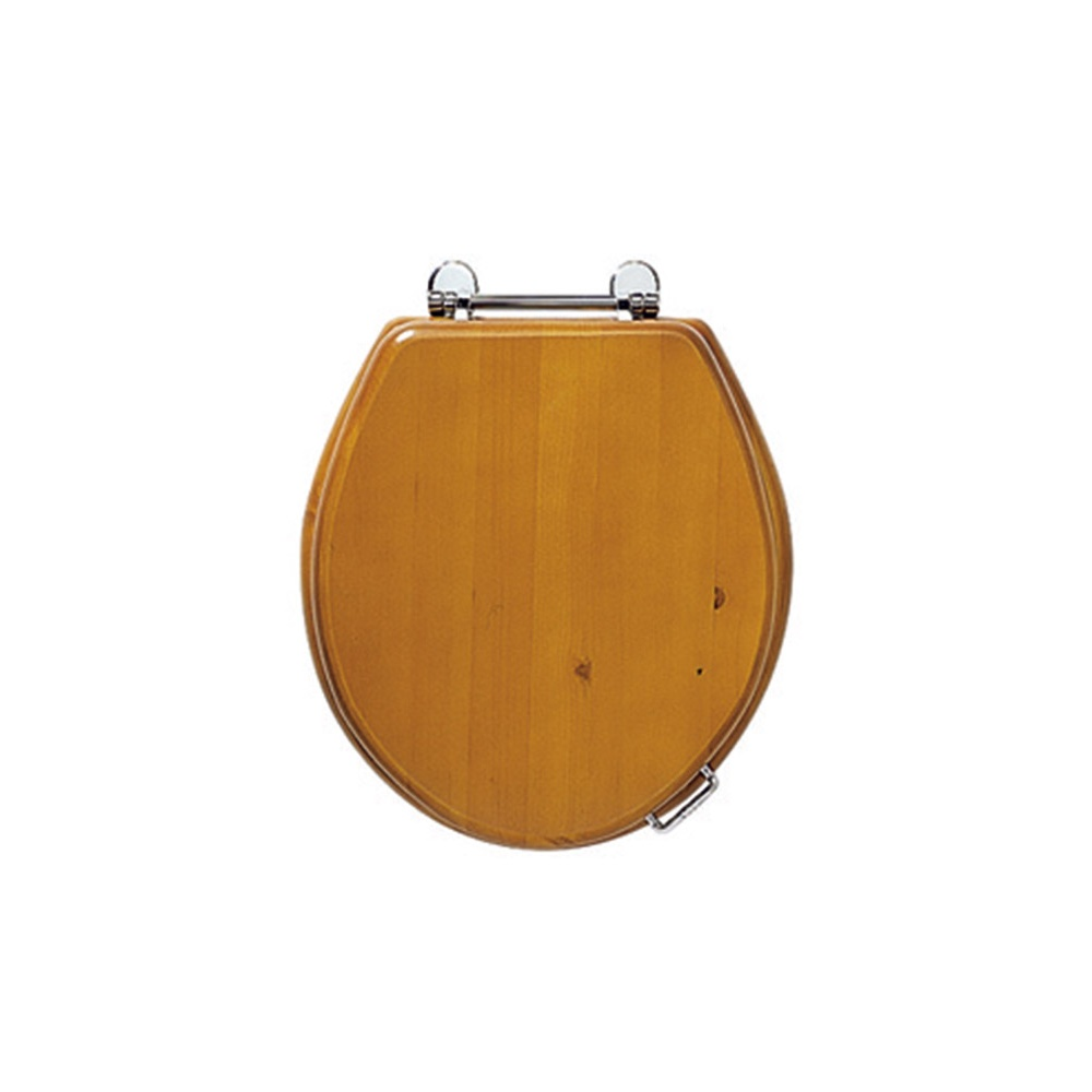 Oval Solid Wood Toilet Seat From Imperial Bathrooms
