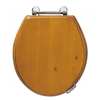 Imperial Oval Solid Wood Toilet Seat