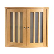 Westminster Linea Curved Fronted Wall Cabinet