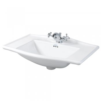 Imperial Westminster White Vanity Basin