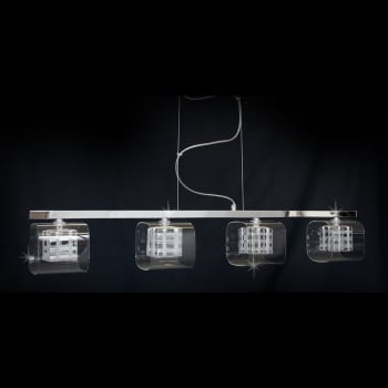 Impex Lighting Avignon G9 4 Light Bar in Chrome