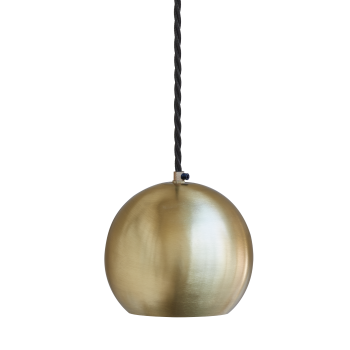 Industville The Globe Collection Pendant Light - Brass