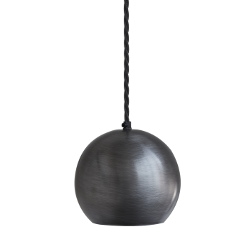 Industville The Globe Collection Pendant Light - Pewter