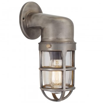 Industville Vintage Industrial Style Cage Retro Bulkhead Sconce Wall Light