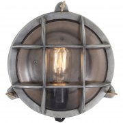 Vintage Industrial Style Round Retro Bulkhead Wall Light/Flush Mount