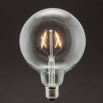 Industville Vintage Style Edison LED 5W E27 Dimmable Light Bulb - Large Globe Shape