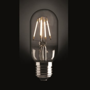 Industville Vintage Style Edison LED 5W E27 Dimmable Light Bulb - Tube Shape
