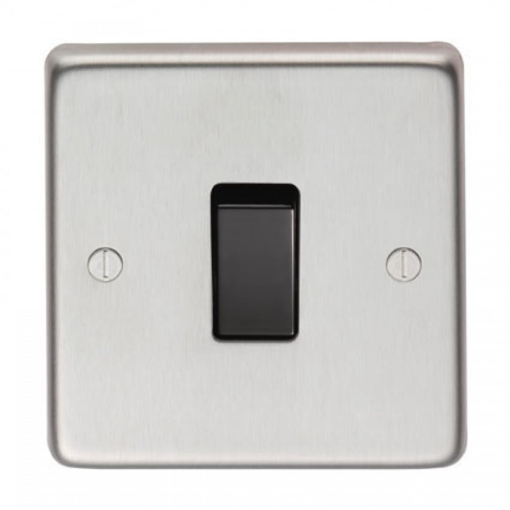 From The Anvil Intermediate 20amp Switch - Satin Stainless Steel