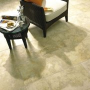 Jerusalem Grey Gold Brushed Limestone Tiles