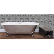 Hurlingham Collection Bisley Polished Double Ended Bath