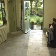 Jura Grey Honed Limestone Tiles