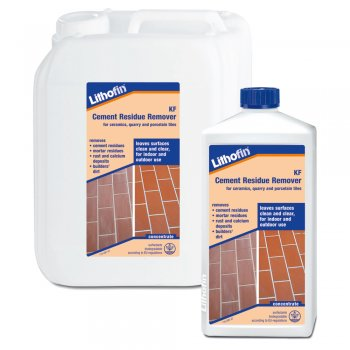 Lithofin KF Cement Residue Remover For Ceramics, Quarry Tiles & Porcelain