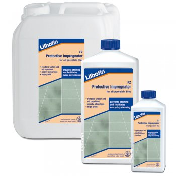 Lithofin KF Protective Impregnator For Vitrified Ceramic & Porcelain