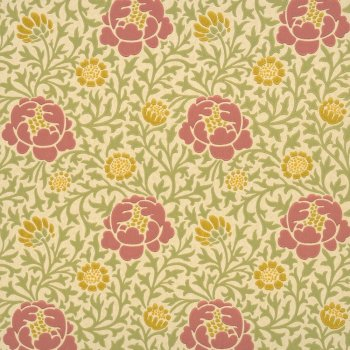 Little Greene Lansdowne Walk - Rose Wallpaper