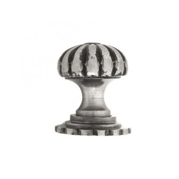 From the Anvil Large Cabinet Knob with Base - Natural Smooth