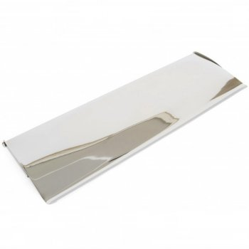 From the Anvil Large Letterplate Cover - Polished Chrome