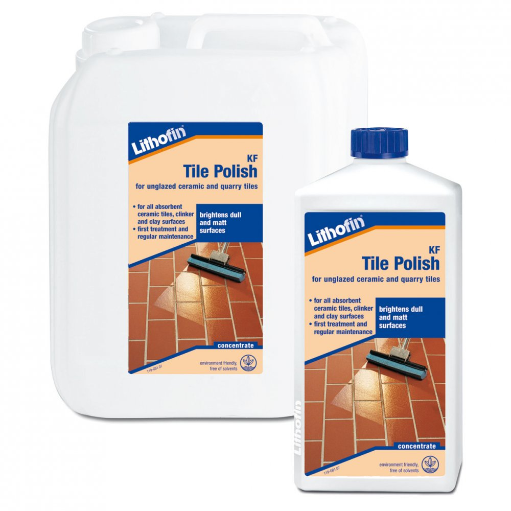 How to polish floor tiles