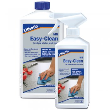 Lithofin MN Easy-Clean Spray For Stone Kitchen Worktops, Sills & Shelving