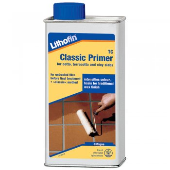 Lithofin TC Classic Primer/Sealer For Cotto, Terracotta & Clay Slabs