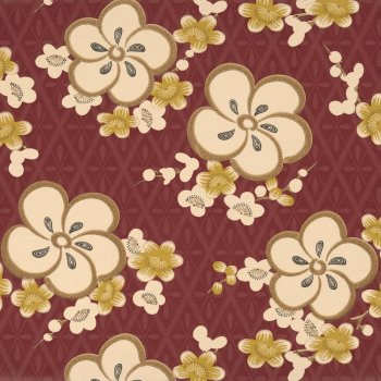 Little Greene Blossom - Yellow Blossom Wallpaper