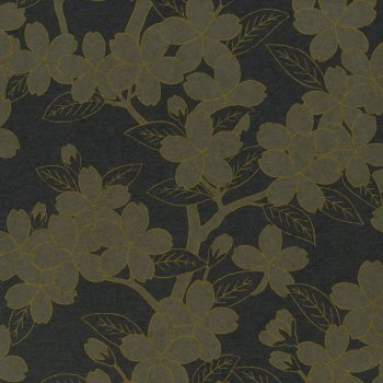 Little Greene Camellia - Charcoal