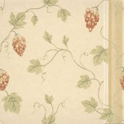 Chesterfield St - Grenache Wallpaper