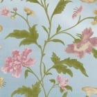 China Rose Blue Lustre Wallpaper
