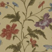 China Rose - Bronze Wallpaper