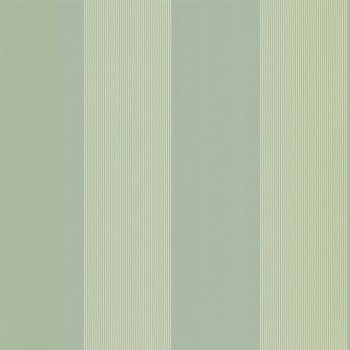 Little Greene Elephant Stripe - Salvia Wallpaper